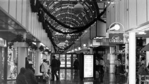 Kauppakeskus Iso-Kristiina Lappeenrannassa vuonna 1987.