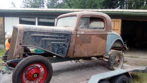 Chevrolet Sport Coupe vuosimallia 1934.