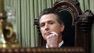 Kalifornian kuvernööri Gavin Newsom.