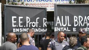 Ammuskelu Raul Brasilin koulussa alkoi noin 9.30 paikallista aikaa.