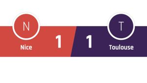 Nizza - Toulouse 1-1