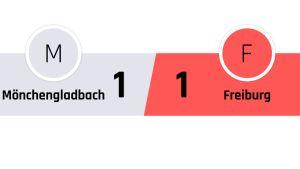 Mönchengladbach - Freiburg 1-1