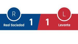 Real Sociedad - Levante 1-1