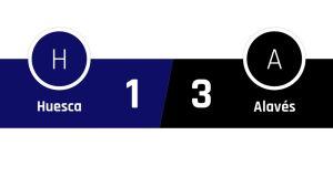Huesca - Alavés 1-3