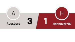 Ausburg - Hannover 3-1