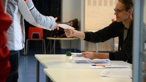 Sulvan äänestyspaikka