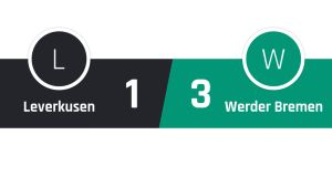 Leverkusen - Werder Bremen 1-3