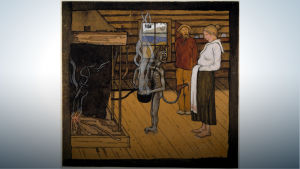 Simbergin maalaus