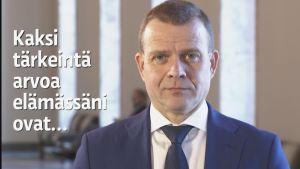 Petteri Orpo puheenjohtajahaastattelussa