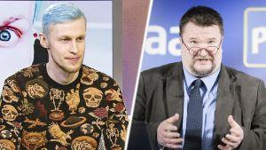 Roni Back ja Arto Luukkanen