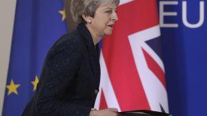 May on sulkenut toistuvasti pois uuden kansanäänestyksen ja mahdollisuuden brexitin perumiseen.