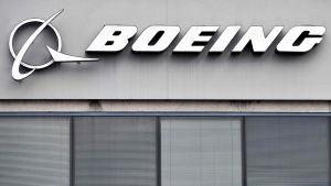 Boeing-yhtiön logo.