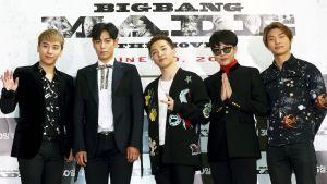 BigBang -yhtye vuonna 2016