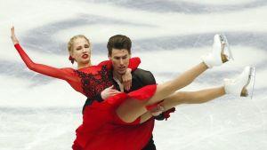 Juulia Turkkila ja Matthias Versluis kuvassa