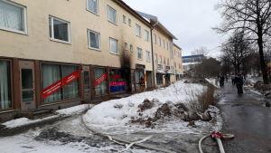 Oulun Tuirassa tulipalo 28.03.2019