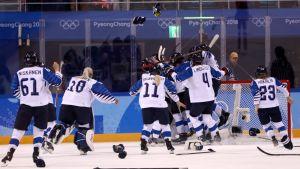 Naisleijonat, Korean olympialaiset