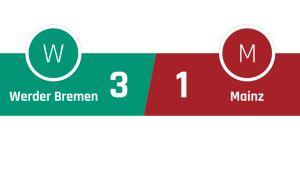 Werder Bremen - Mainz 3-1
