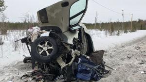Kuva onnettomuuspaikalta 31. maaliskuuta.