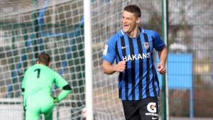 Filip Valencic FC Interin paidassa 2019.