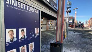 Sininen tulevaisuus, Lapin vaalipiiri, Rovaniemi, Lordin aukio