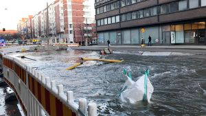 Hämeentien tulva