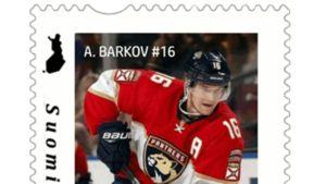 Aleksander Barkov saa oman postimerkin.