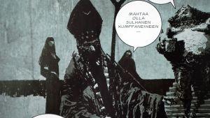 Sami Makkonen, Kalevala-sarjakuva, Louhi