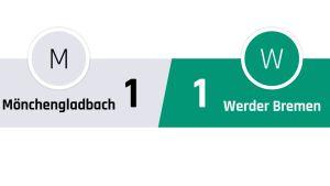 Mönchengladbach - Werder Bremen 1-1