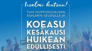 Iisalmi aloitti tammikuussa 2019 kampanjan, jossa tarjolla oli yksi täysin ilmainen ja useita edullisia asuntoja kesän ajaksi Iisalmeen kesätyöntekijöiksi muuttaville.