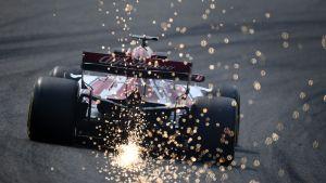 Kimi Räikkönen Kiinan GP