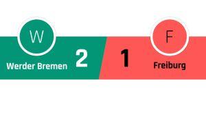 Werder Bremen - Freiburg 2-1