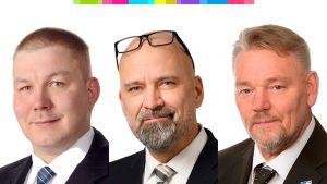 Mauri Peltokangas, Juha Mäenpää ja Jukka Mäkynen