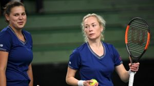 Anastasia Kulikova ja Emma Laine