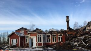 Kempeleen pappila tuhoutui tulipalossa 16.4.2019