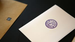 Leimattu äänestyslipuke.