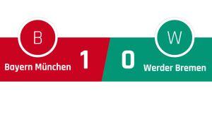 Bayern München - Werder Bremen 1-0
