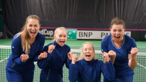 Suomen joukkue tennis fed cup