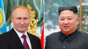 Vladimir Putin ja Kim Jong-un