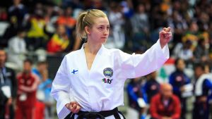 Julia Pätsi taekwondo Arctic Taekwon-Do