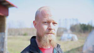 Lahtelainen Mika Lindholm on mukana Näkymätön mies -hankkeessa.