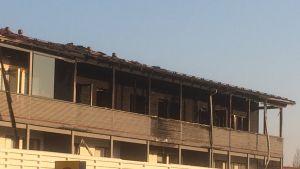 Tulipalo tuhosi useita huoneistoja Kuopion Savolanniemessä.