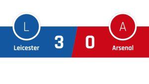 Leicester - Arsenal 3-0
