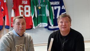 Valeri Gratsev ja Martti Tepponen