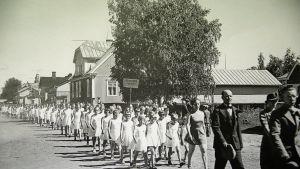 Piirijuhla Pietarsaaressa 1938