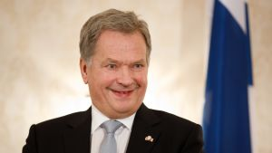 Suomen presidentti Sauli Niinistö.