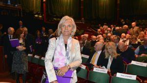 Telian hallituksen puheenjohtaja Marie Ehrling.