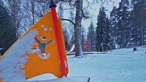 Leikkikenttä Kuopiossa 3.5.2019