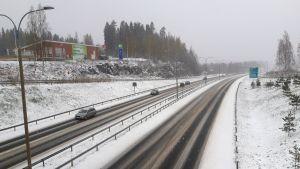 Sorsasalon rampin luota Kuopiosta.