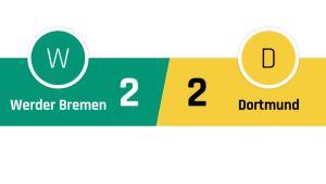 Werder Bremen - Dortmund 2-2