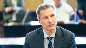 Sampo Eskelinen Helsingin hovioikeudessa 6. toukokuuta.